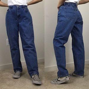 Vintage • 90s Lee High Rise Medium Wash Mom Jeans